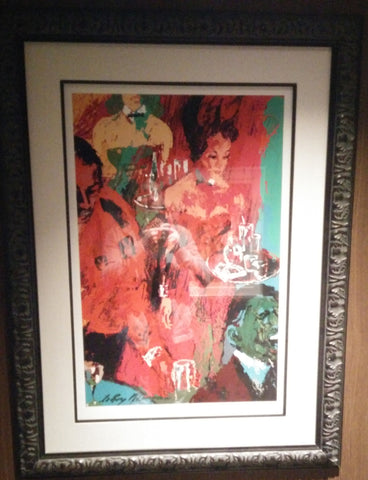 Leroy Neiman Playboy Club - Part of Playboy Suite of 2