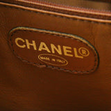 Chanel Vintage Caviar Leather Double Strap Shoulder Tote