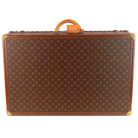 Louis Vuitton Alzer 80 Monogram Suitcase