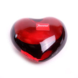 Baccarat Red Crystal Heart