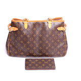 Louis Vuitton Monogram Batignolles Horizontal Tote & Wallet