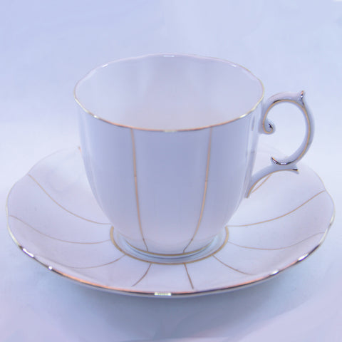 Royal Albert Val D'or Fine Bone China Tea Cup and Saucer