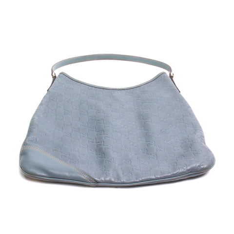 Gucci Light Blue Guccissima Leather New Britt Hobo