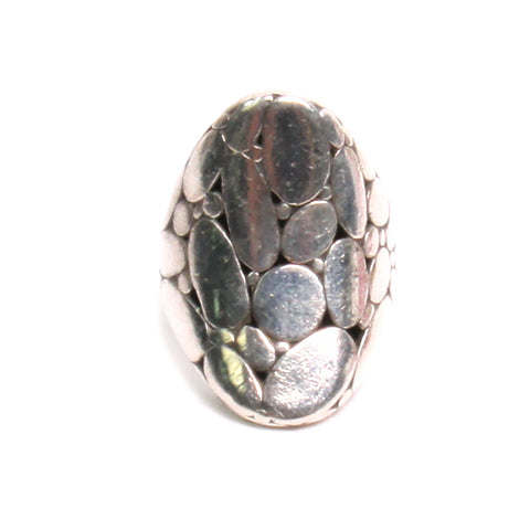 John Hardy Sterling Silver Kali Collection Ring