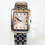 Bulova Mens Quartz Stainless Steel Wrist Watch, Model C869892