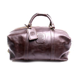 Ghurka Chestnut Leather Cavalier II No 97 Duffle Bag