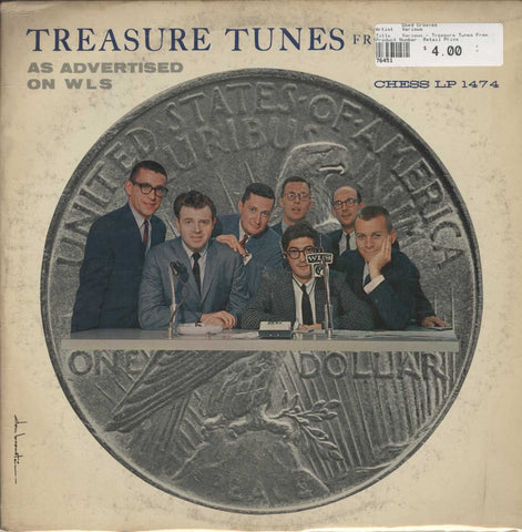 Various - Treasure Tunes From The Vault As Advertised On WLS