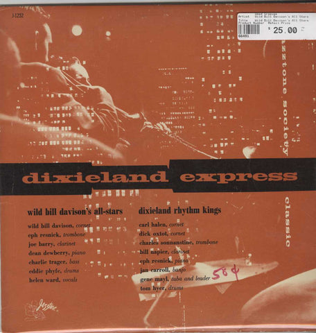 Wild Bill Davison's All Stars - Dixieland Express