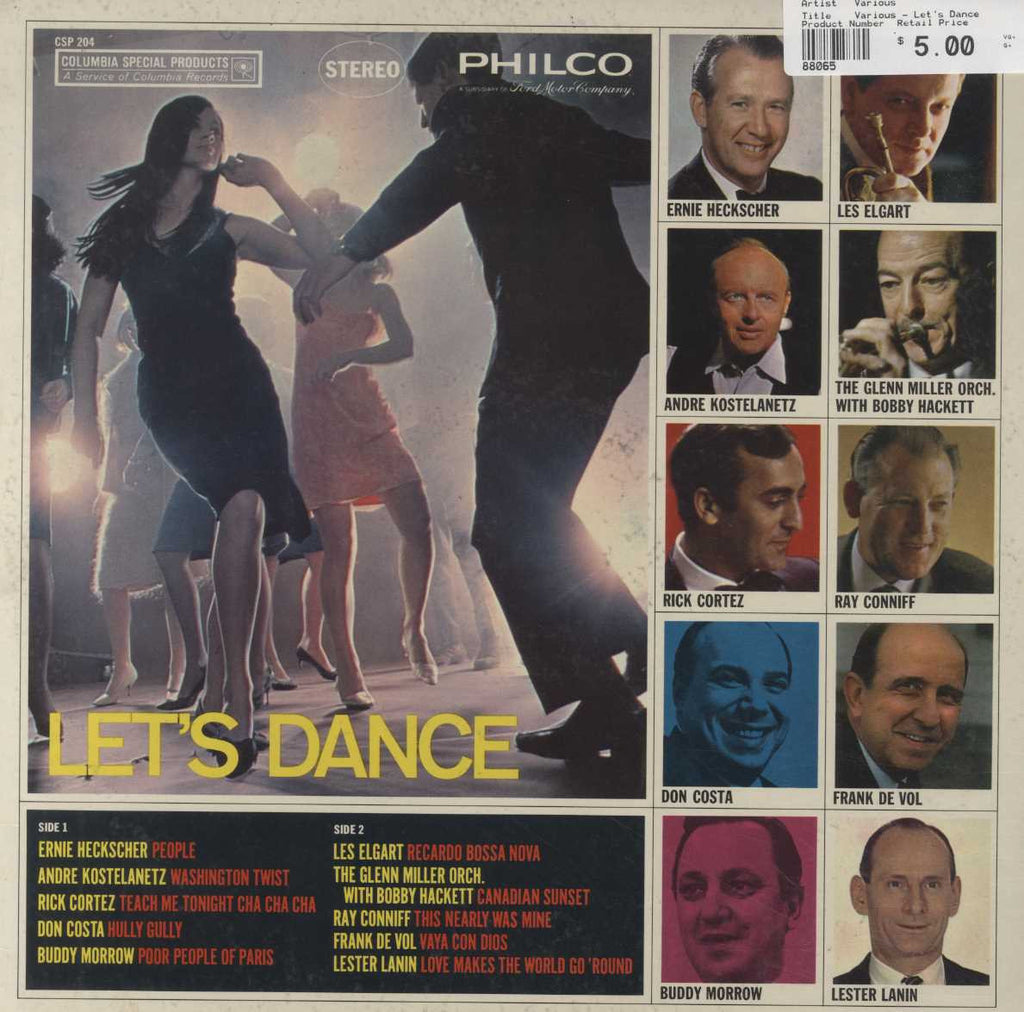 Various - Let's Dance