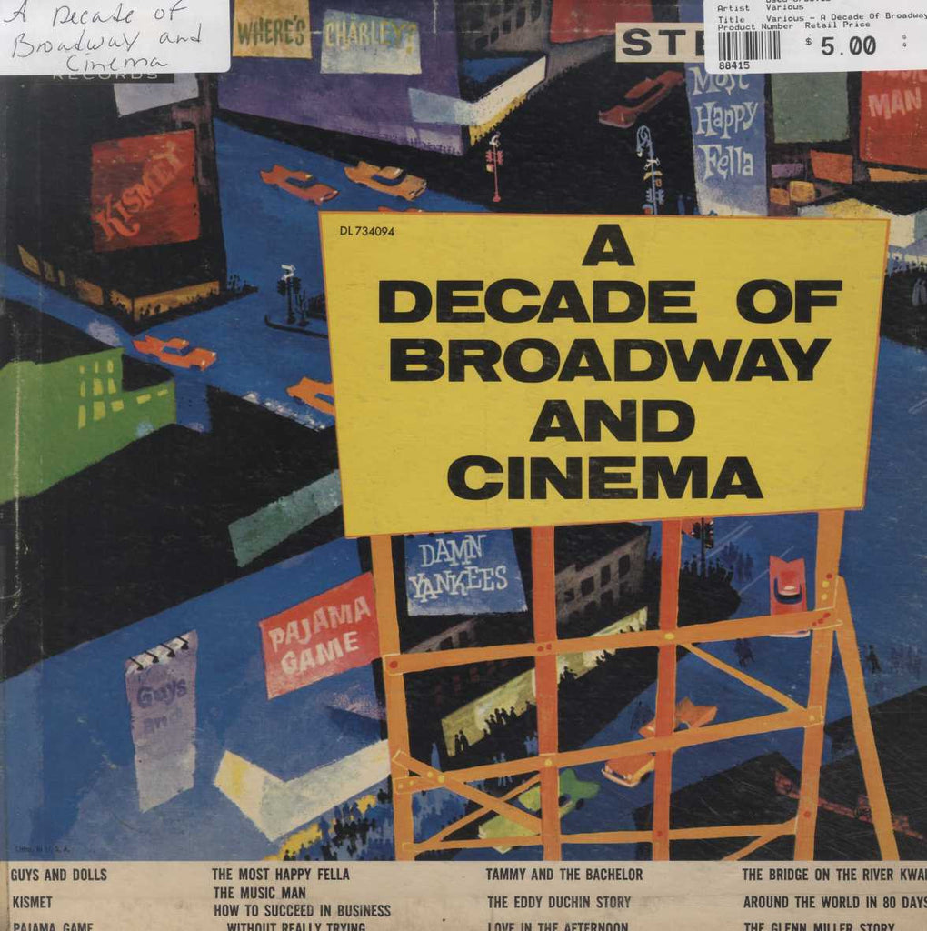 Various - A Decade Of Broadway And Cinema