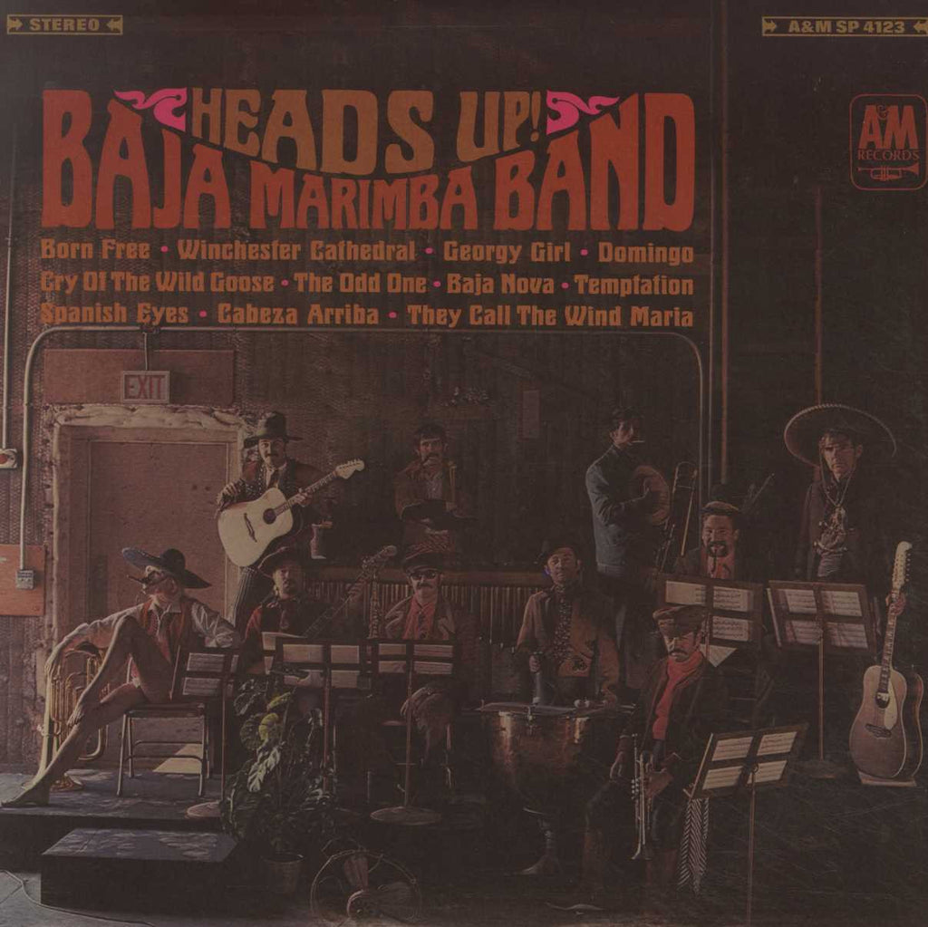 Baja Marimba Band - Heads Up!