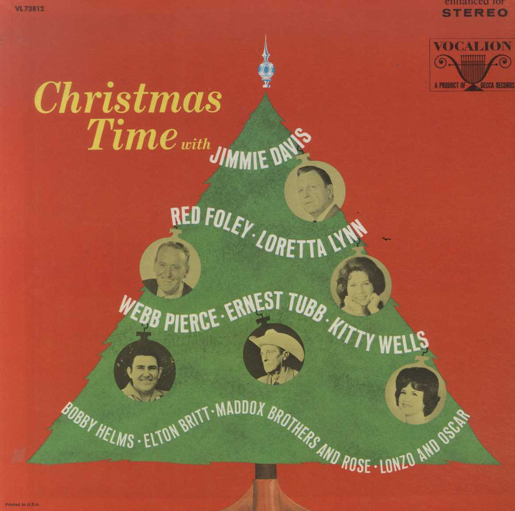 Various - Christmas Time With Jimmie Davis....Lonzo And Oscar