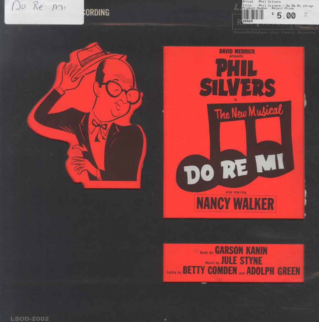 Phil Silvers - Do Re Mi (Original Cast Album)