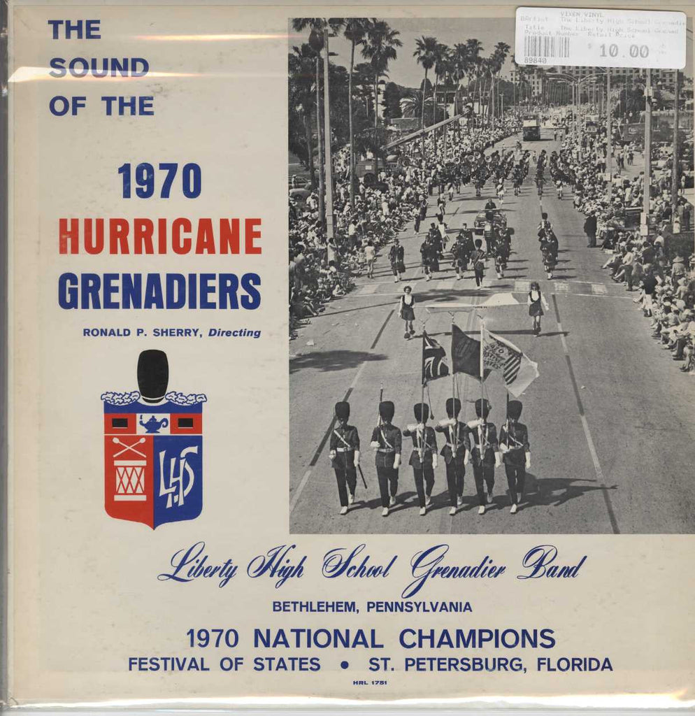The Liberty High School Grenadier Band - The Sound Of The 1970 Hurricane Grenadiers