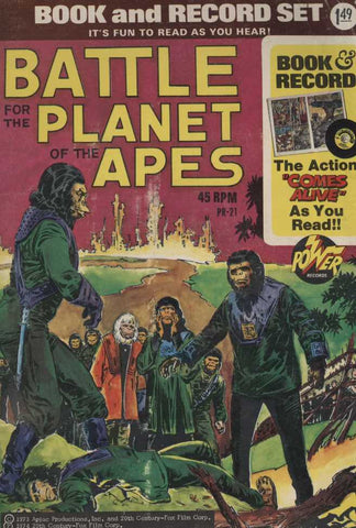 Unknown Artist - Battle For The Planet Of The Apes