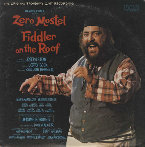 """Fiddler On The Roof"" Original Broadway Cast - Fiddler On The Roof"