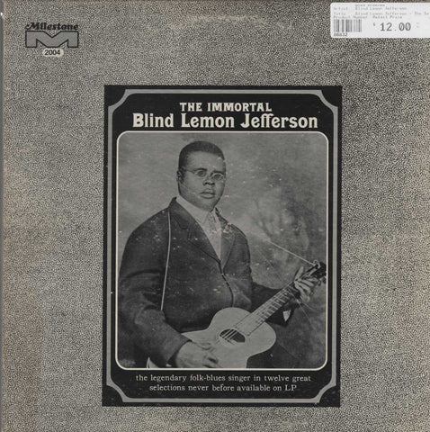 Blind Lemon Jefferson - The Immortal Blind Lemon Jefferson