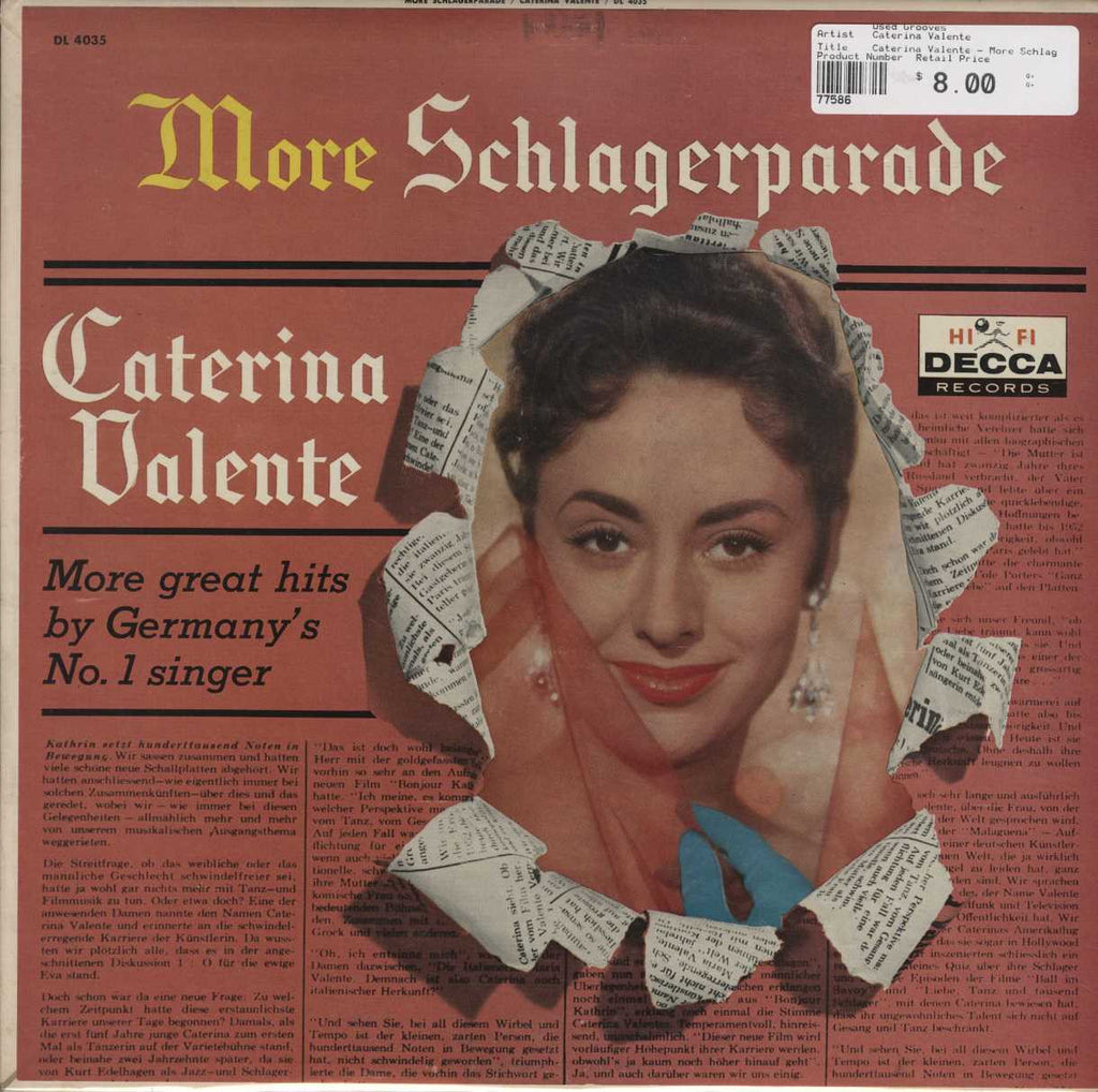 Caterina Valente - More Schlagerparade