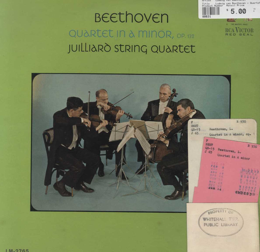 Ludwig van Beethoven - Quartet In A Minor Op. 132