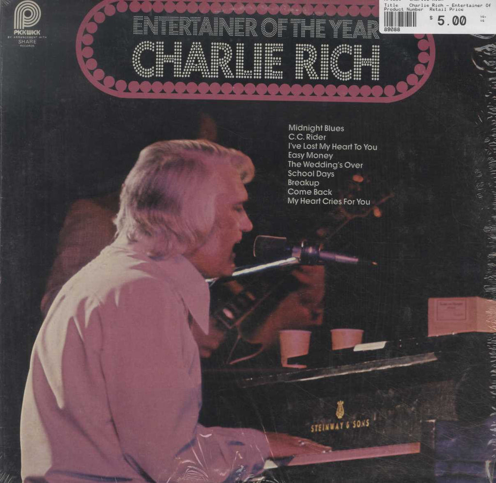 Charlie Rich - Entertainer Of The Year