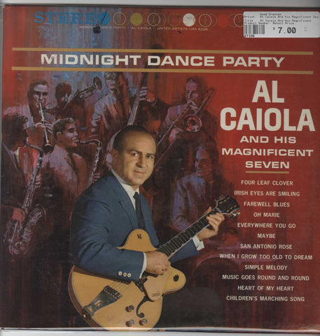 Al Caiola And His Magnificent Seven - Midnight Dance Party