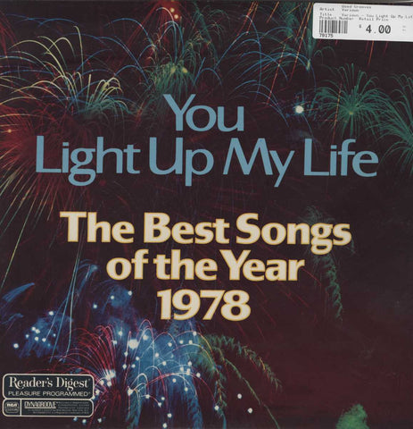 Various - You Light Up My Life - The Best Songs Of The Year 1978