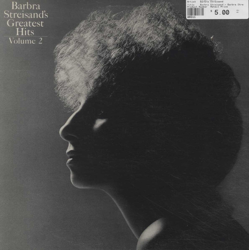 Barbra Streisand - Barbra Streisand's Greatest Hits - Volume 2