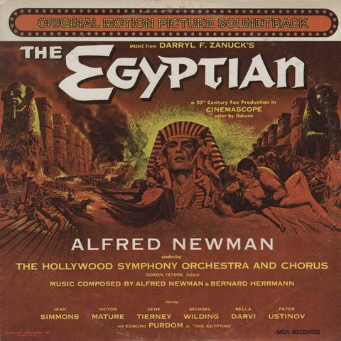 Alfred Newman - The Egyptian (A 20th Century Fox Production In Cinemascope)