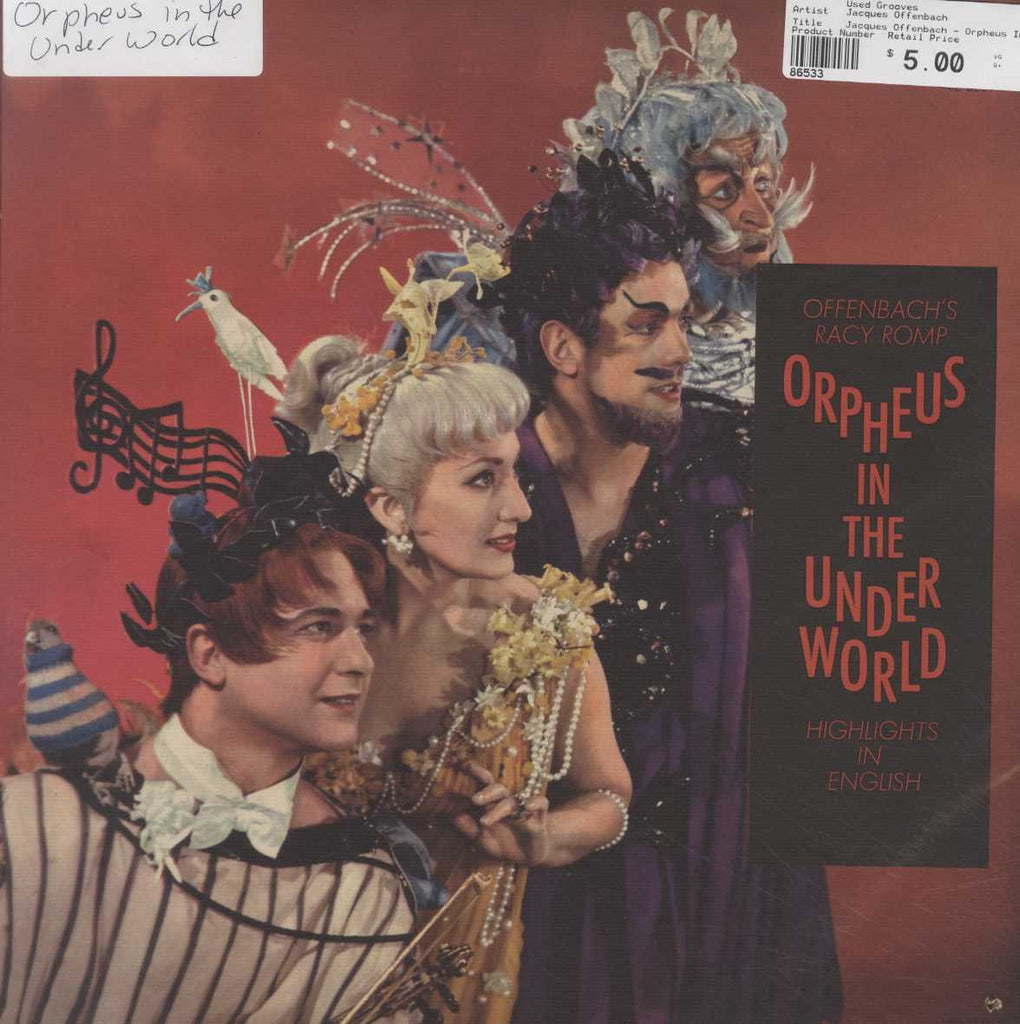 Jacques Offenbach - Orpheus In The Underworld