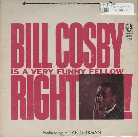 Bill Cosby - Bill Cosby Is A Very Funny Fellow...Right!