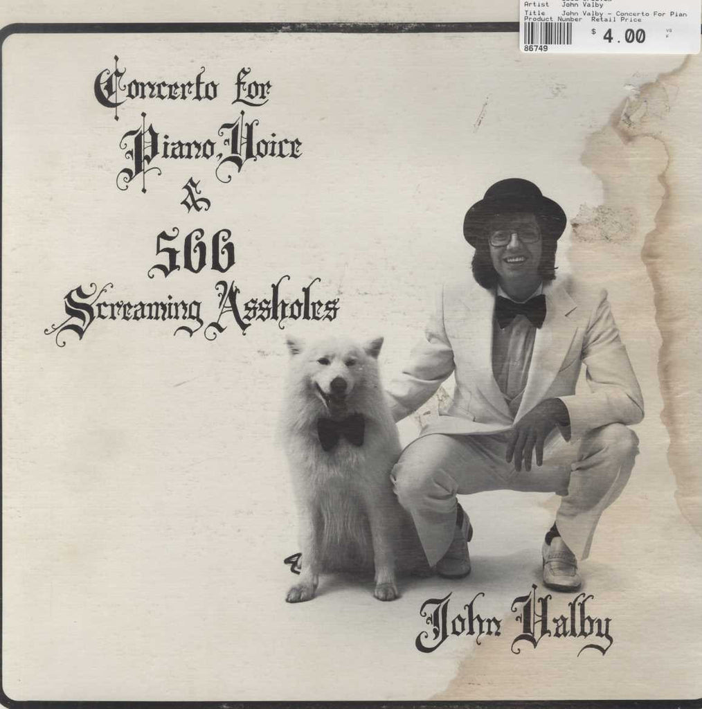 John Valby - Concerto For Piano Voice & 500 Screaming Assholes