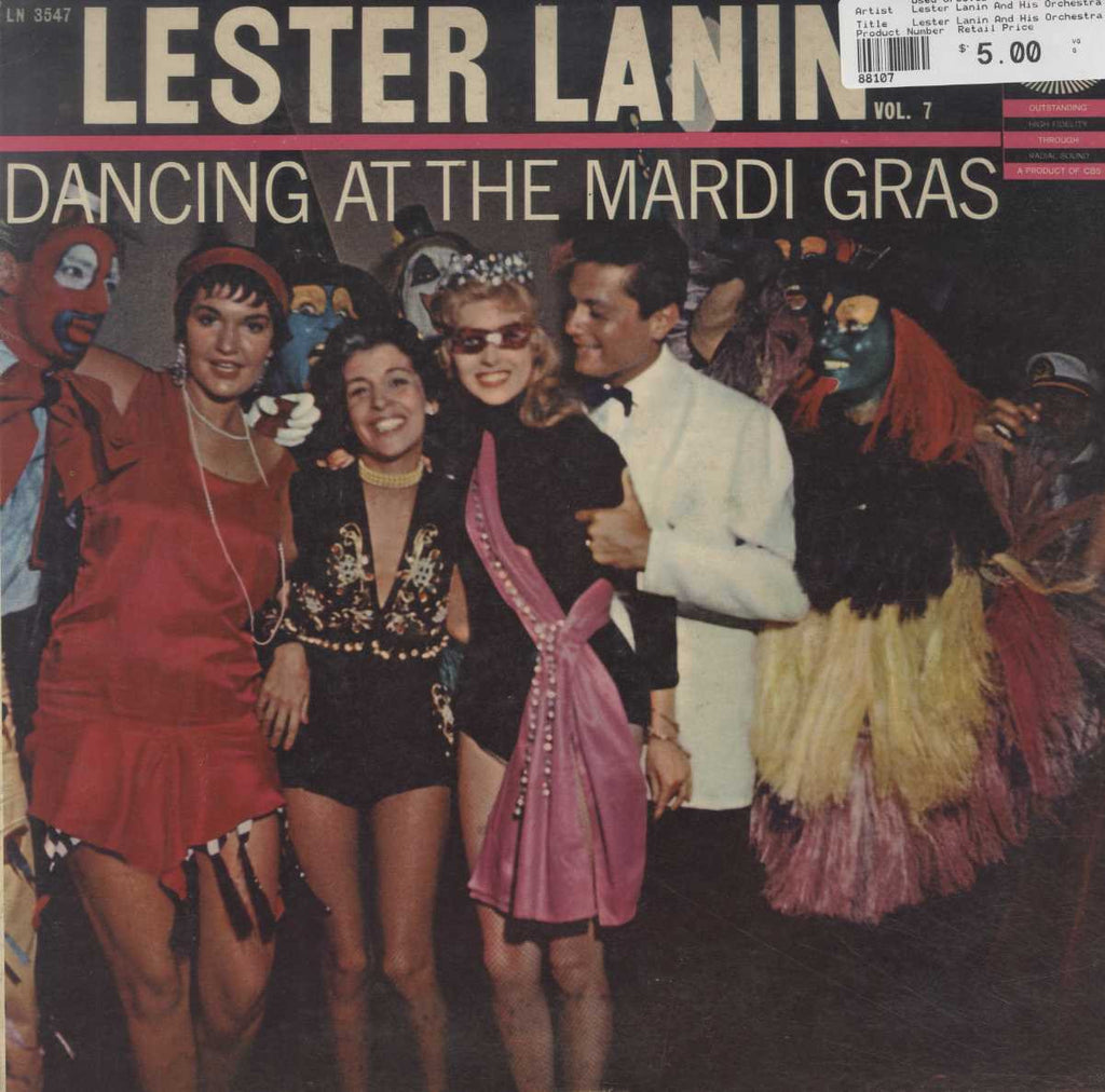 Lester Lanin And His Orchestra - Dancing At The Mardi Gras