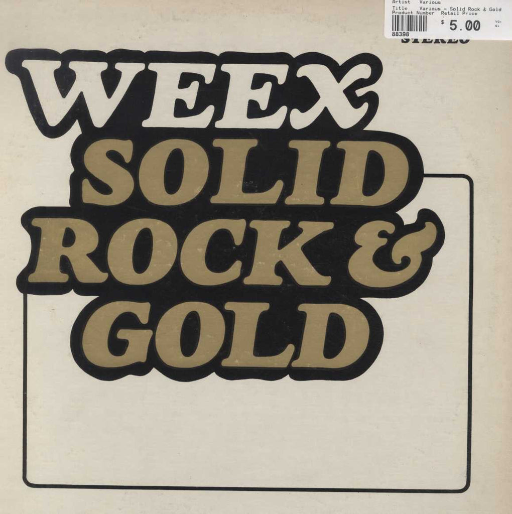 Various - Solid Rock & Gold