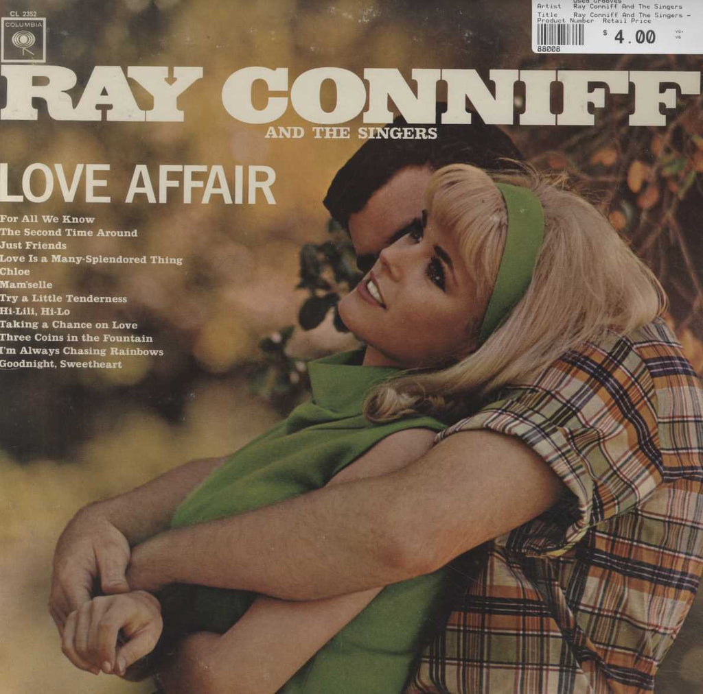 Ray Conniff And The Singers - Love Affair