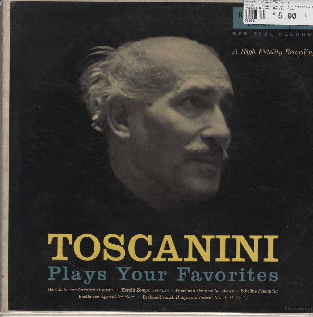 Arturo Toscanini - Toscanini Plays Your Favorites