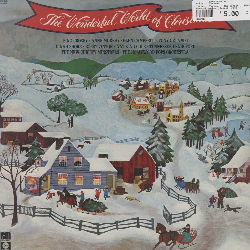 Various - The Wonderful World Of Christmas