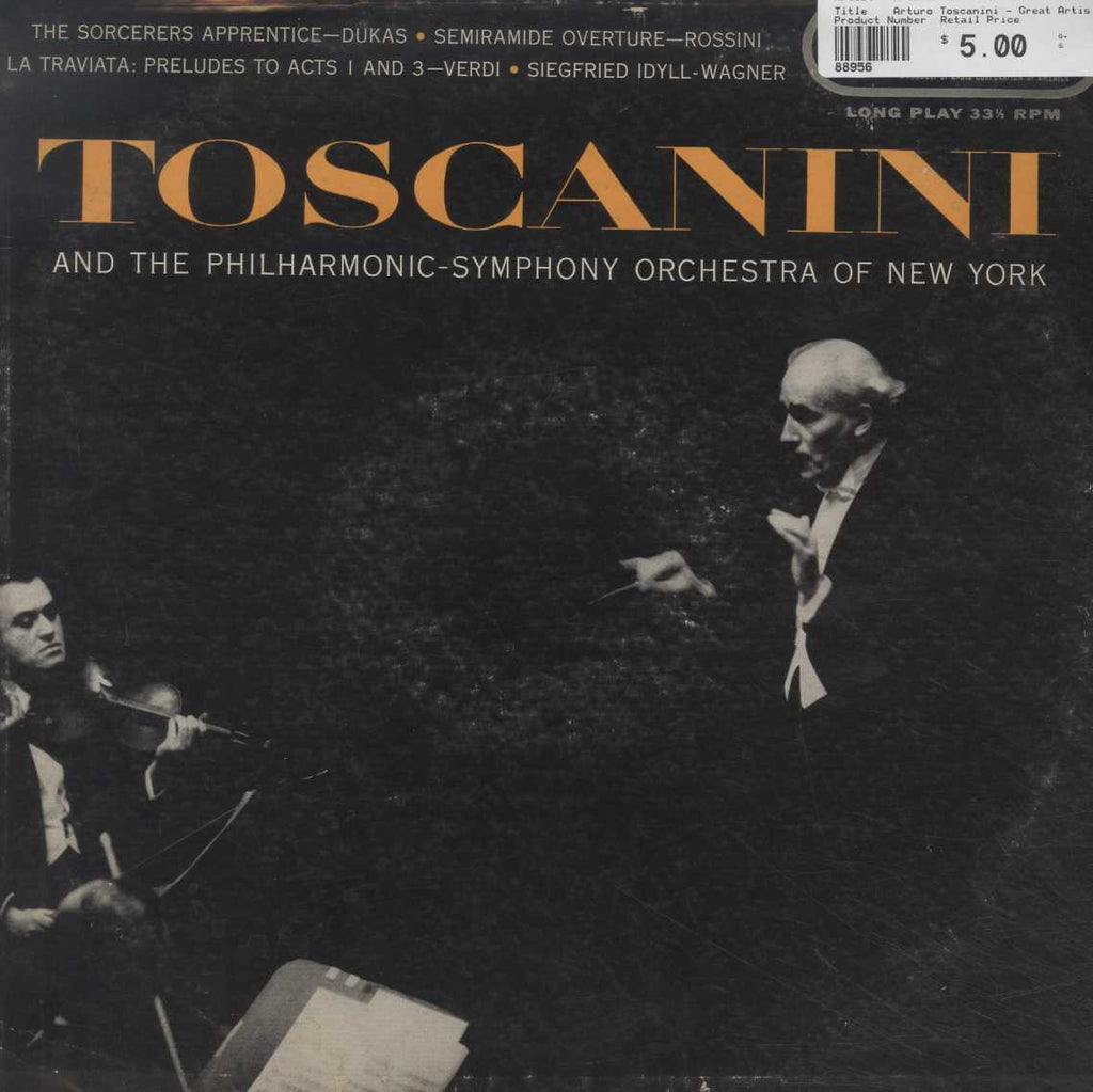 Arturo Toscanini - Great Artists At Their Best