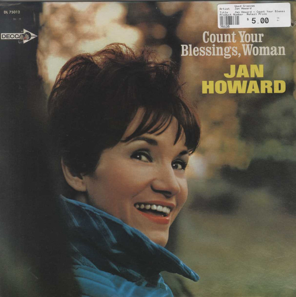 Jan Howard - Count Your Blessings, Woman