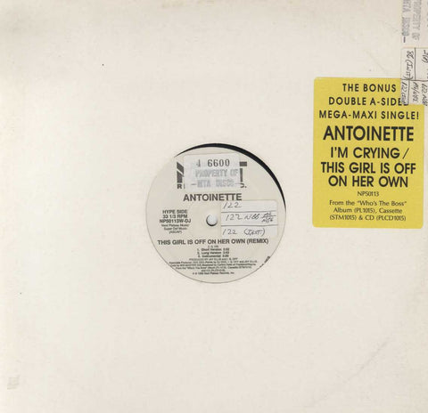 Antoinette - This Girl Is Off On Her Own (Remix) / I'm Crying