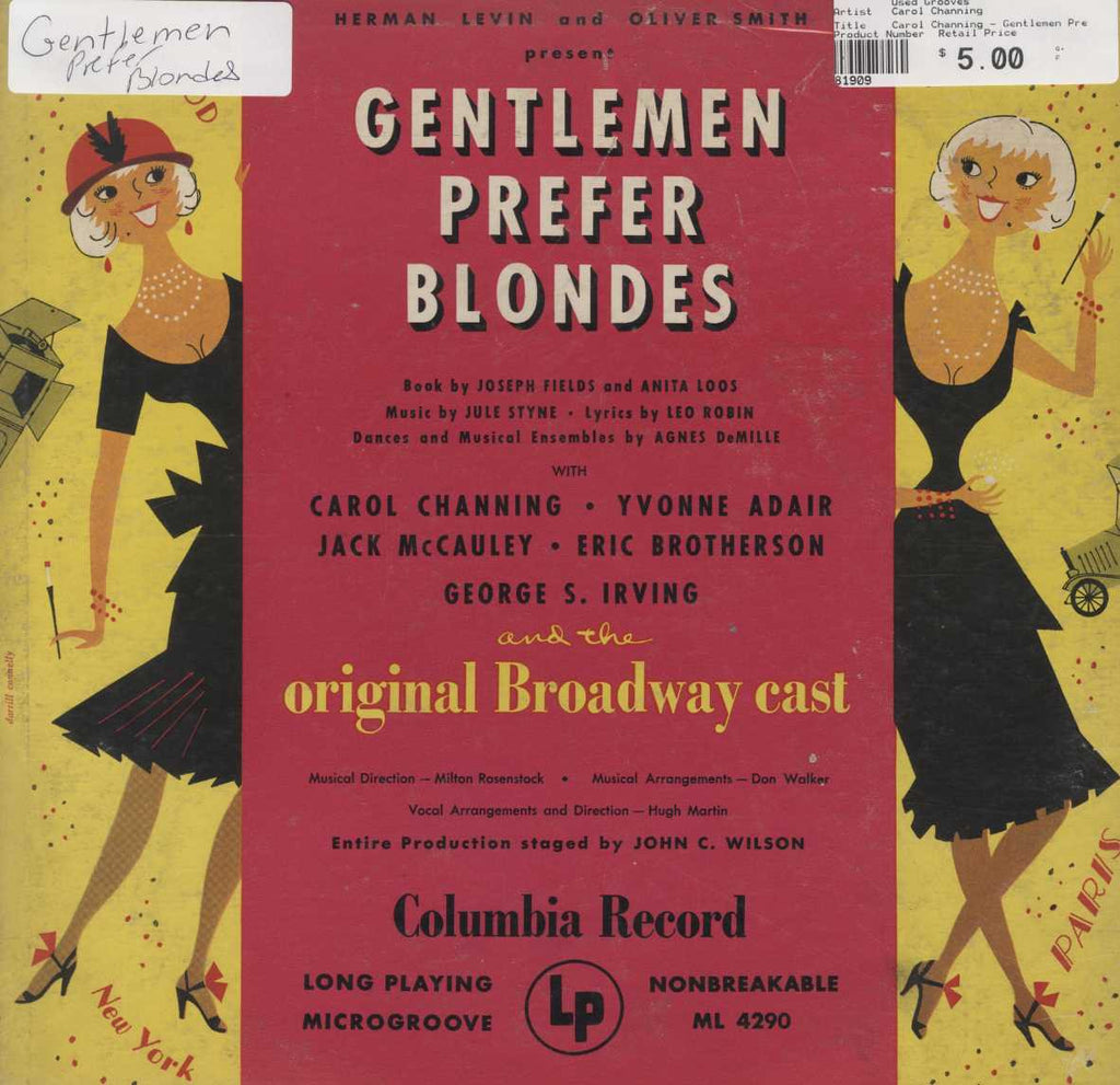 Carol Channing - Gentlemen Prefer Blondes (Original Broadway Cast)