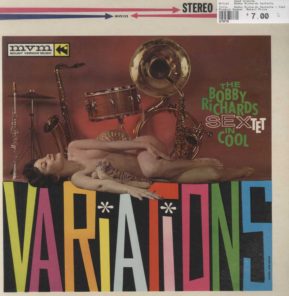 Bobby Richards Sextette - Cool Variations