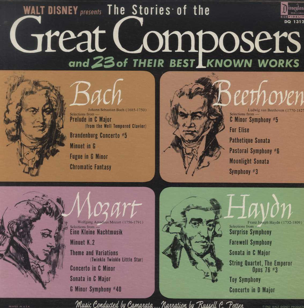 Various - The Stories Of The Great Composers