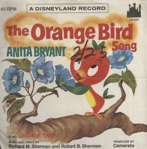 Anita Bryant - The Orange Bird Song