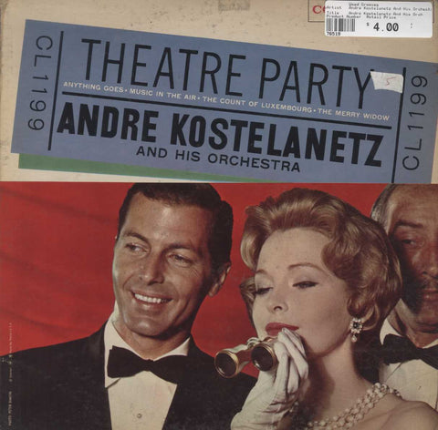 André Kostelanetz And His Orchestra - Theatre Party - Anything Goes - Music In The Air - The Count O