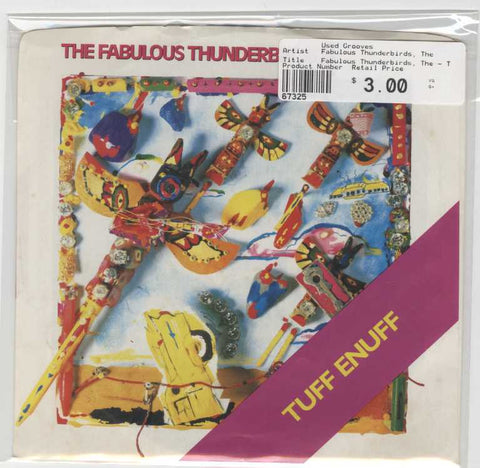 Fabulous Thunderbirds, The - Tuff Enuff