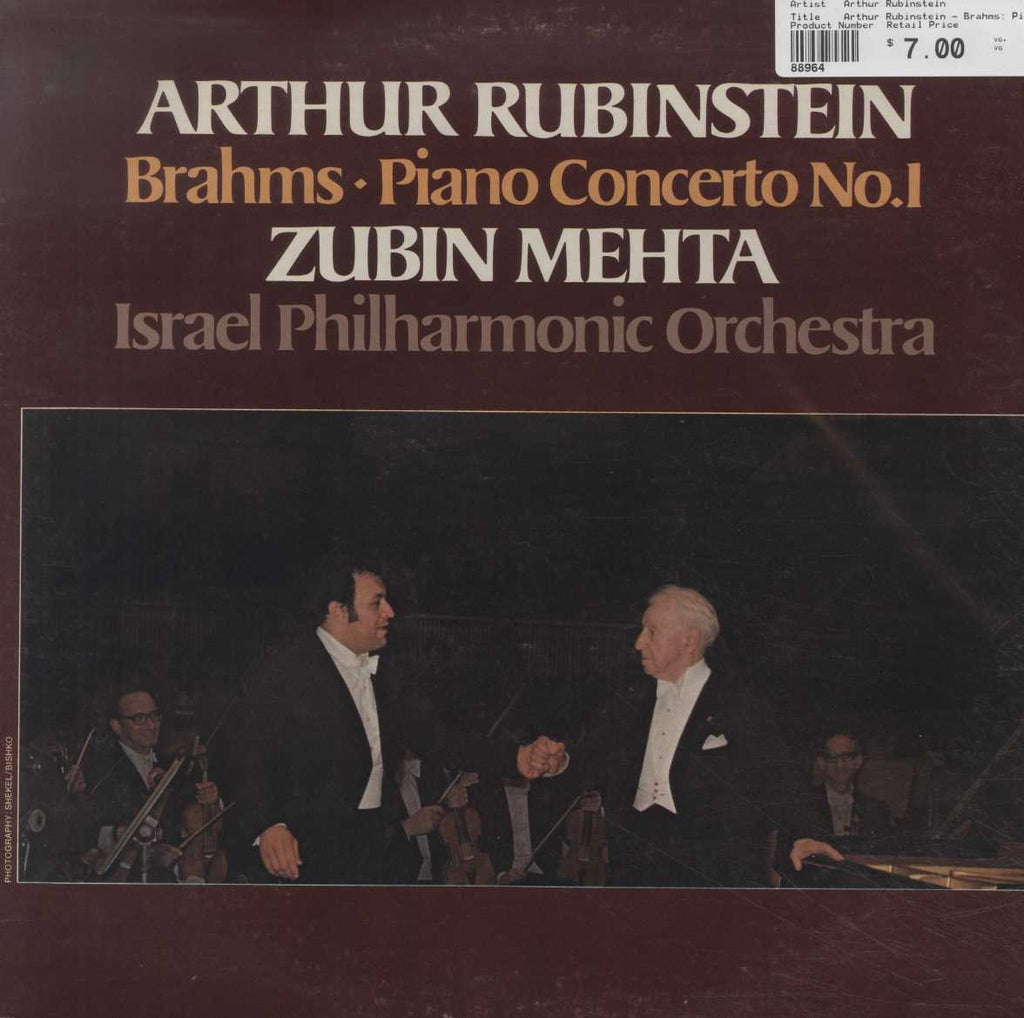 Arthur Rubinstein - Brahms: Piano Concerto No.1 In D Minor, Op.15