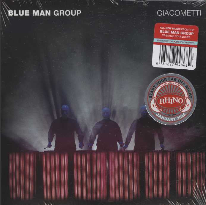 Blue Man Group - Giacometti / Ready to Go