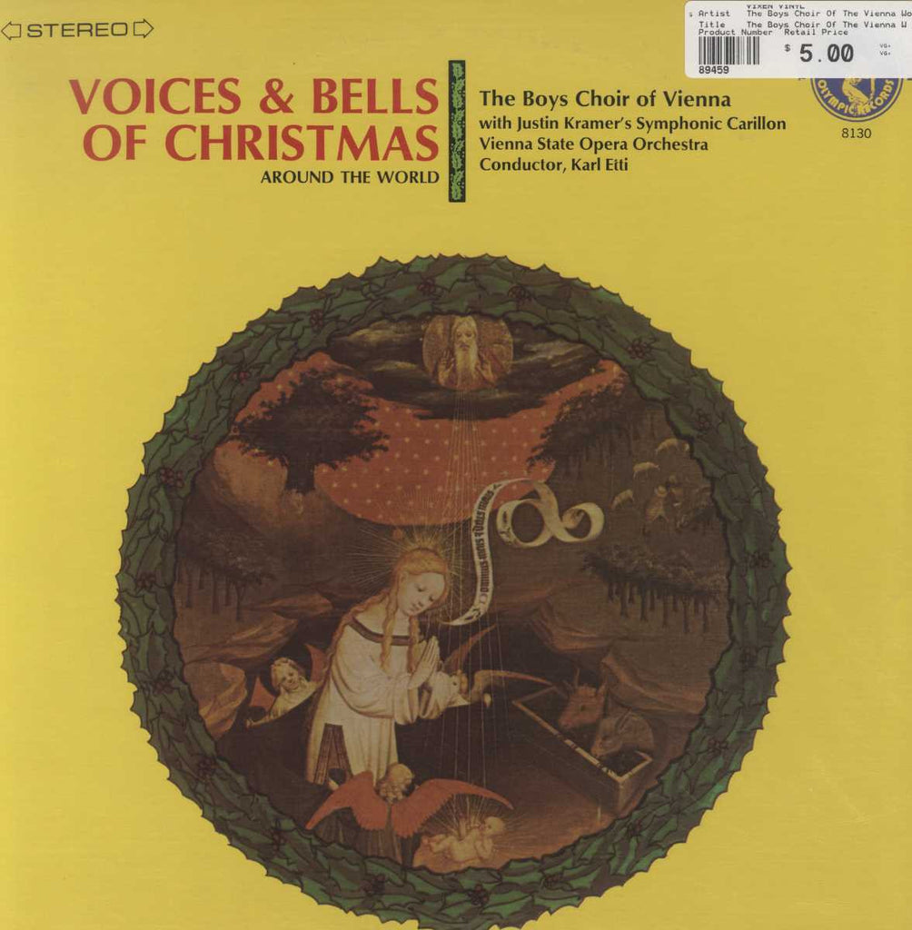 The Boys Choir Of The Vienna Woods - Voices And Bells Of Christmas Around The World