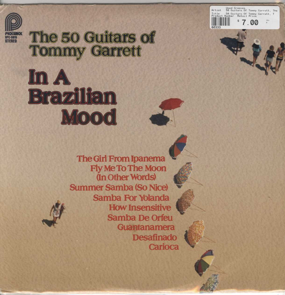 50 Guitars Of Tommy Garrett, The - In A Brazilian Mood