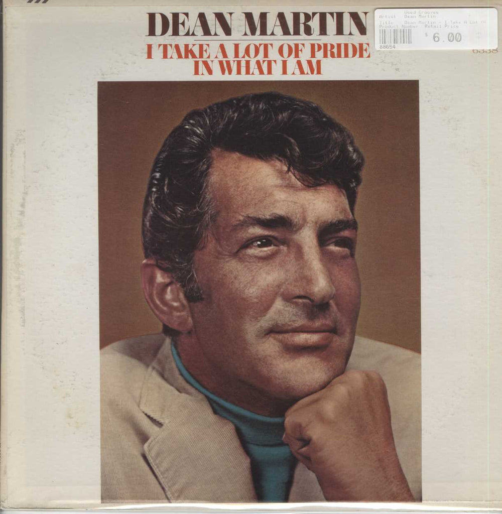 Dean Martin - I Take A Lot Of Pride In What I Am